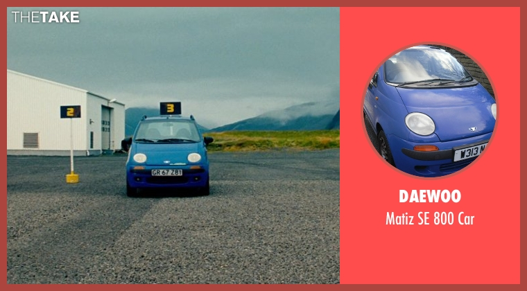 Daewoo car from The Secret Life of Walter Mitty seen with Ben Stiller (Walter Mitty)