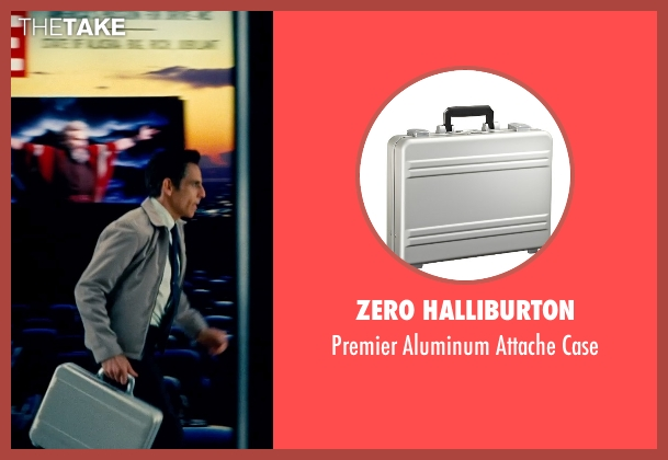 Zero Halliburton case from The Secret Life of Walter Mitty seen with Ben Stiller (Walter Mitty)