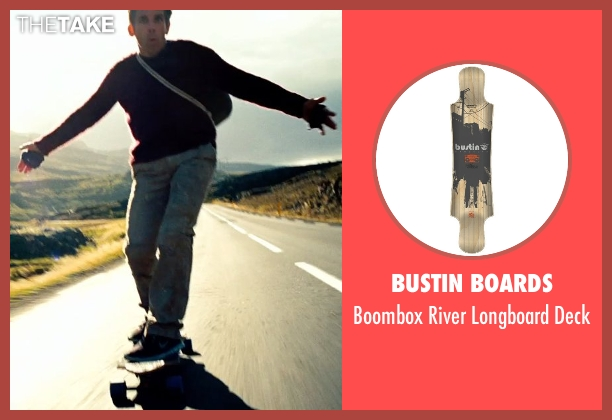Bustin Boards deck from The Secret Life of Walter Mitty seen with Ben Stiller (Walter Mitty)