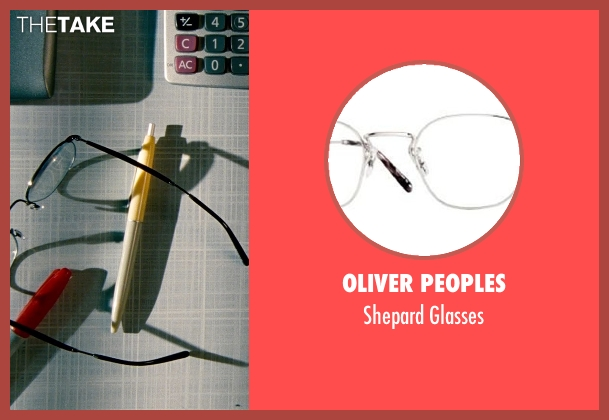 Oliver Peoples glasses from The Secret Life of Walter Mitty seen with Ben Stiller (Walter Mitty)