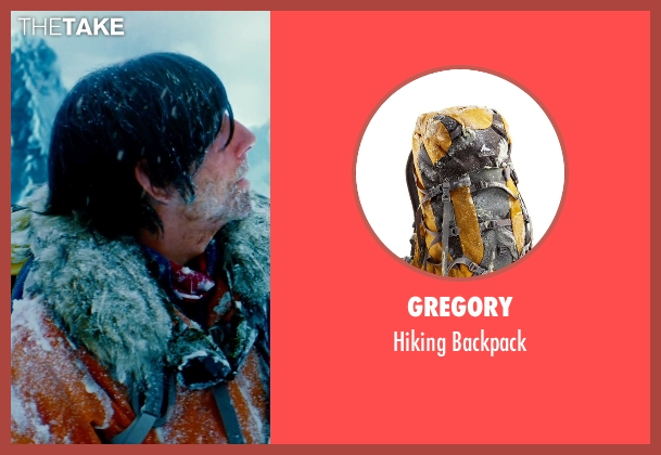Gregory yellow backpack from The Secret Life of Walter Mitty seen with Ben Stiller (Walter Mitty)