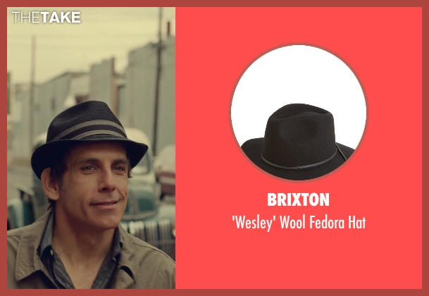 Brixton black hat from While We're Young seen with Ben Stiller (Josh)