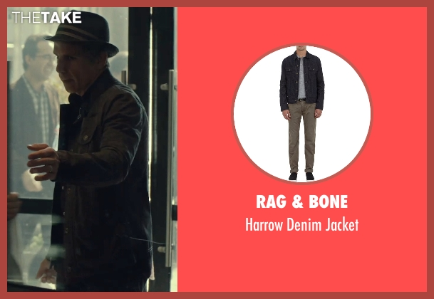Rag & Bone black jacket from While We're Young seen with Ben Stiller (Josh)