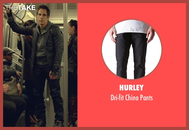 Hurley black pants from While We're Young seen with Ben Stiller (Josh)
