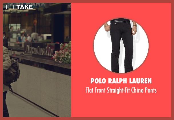Polo Ralph Lauren black pants from While We're Young seen with Ben Stiller (Josh)