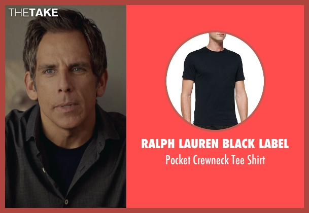 Ralph Lauren Black Label black shirt from While We're Young seen with Ben Stiller (Josh)