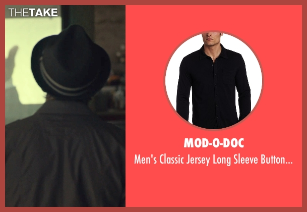 Mod-O-Doc black shirt from While We're Young seen with Ben Stiller (Josh)