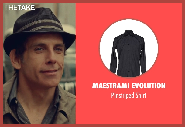 Maestrami Evolution black shirt from While We're Young seen with Ben Stiller (Josh)