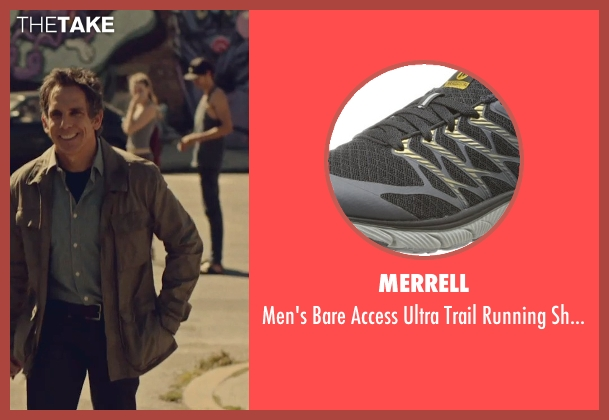 Merrell black shoes from While We're Young seen with Ben Stiller (Josh)