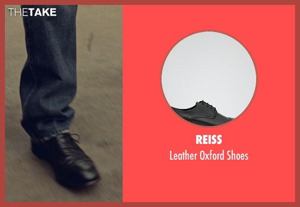 Reiss black shoes from While We're Young seen with Ben Stiller (Josh)