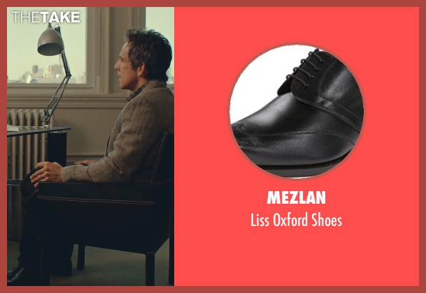 Mezlan black shoes from While We're Young seen with Ben Stiller (Josh)