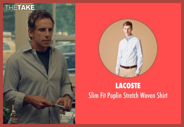 Lacoste blue shirt from While We're Young seen with Ben Stiller (Josh)