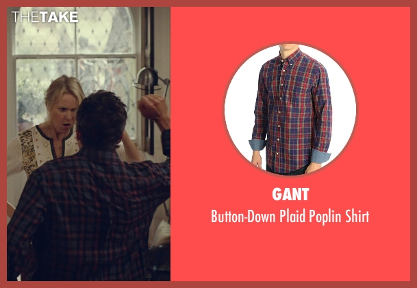 Gant blue shirt from While We're Young seen with Ben Stiller (Josh)