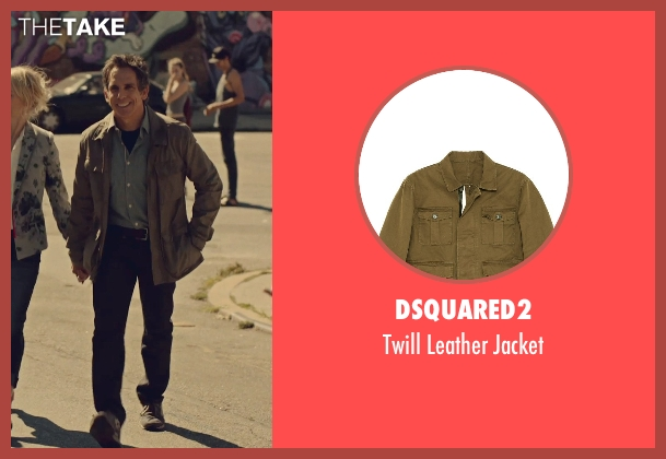 Dsquared2 brown jacket from While We're Young seen with Ben Stiller (Josh)