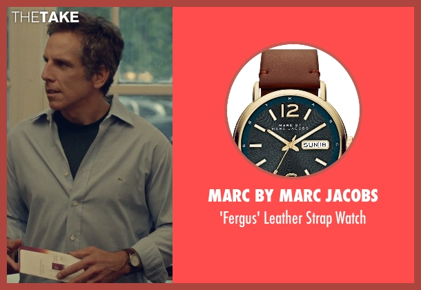 Marc by Marc Jacobs brown watch from While We're Young seen with Ben Stiller (Josh)