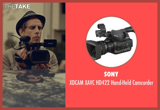 Sony camcorder from While We're Young seen with Ben Stiller (Josh)