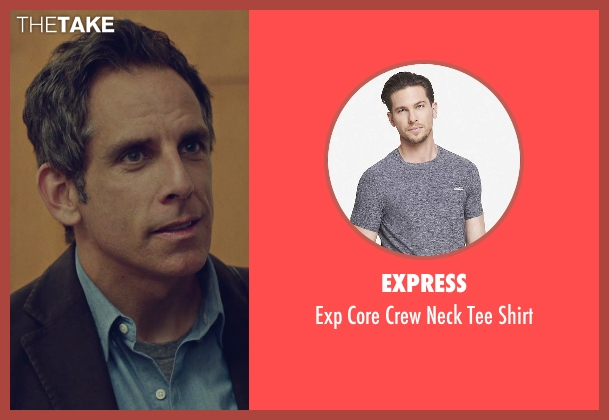 Express gray shirt from While We're Young seen with Ben Stiller (Josh)