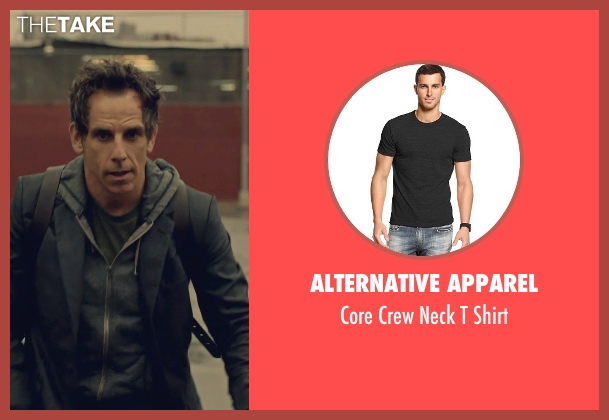 Alternative Apparel gray shirt from While We're Young seen with Ben Stiller (Josh)