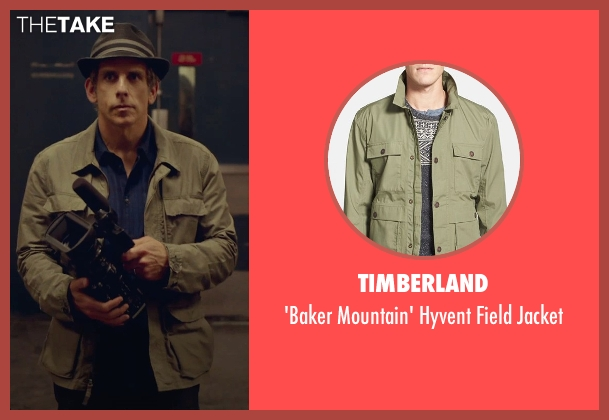 Timberland green jacket from While We're Young seen with Ben Stiller (Josh)