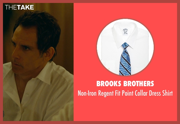 Brooks Brothers white shirt from While We're Young seen with Ben Stiller (Josh)