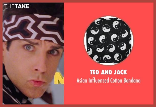 Ted And Jack black bandana from Zoolander 2 seen with Ben Stiller (Derek Zoolander)