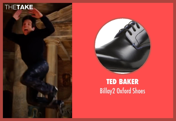 Ted Baker black shoes from Zoolander 2 seen with Ben Stiller (Derek Zoolander)