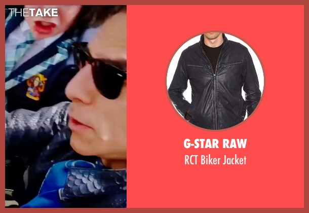 G-Star Raw blue jacket from Zoolander 2 seen with Ben Stiller (Derek Zoolander)