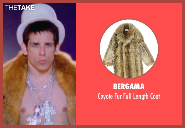 Bergama coat from Zoolander 2 seen with Ben Stiller (Derek Zoolander)