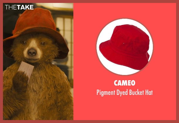 Cameo red hat from Paddington seen with Ben Whishaw (Paddington (Voice))