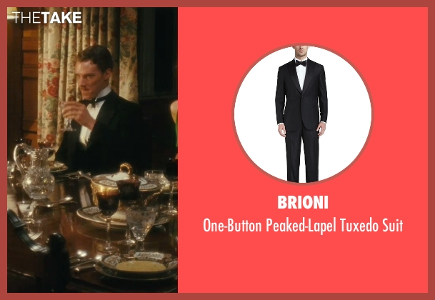 Brioni black suit from Atonement seen with Benedict Cumberbatch (Paul Marshall)