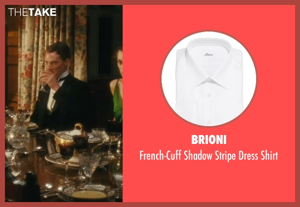 Brioni white shirt from Atonement seen with Benedict Cumberbatch (Paul Marshall)
