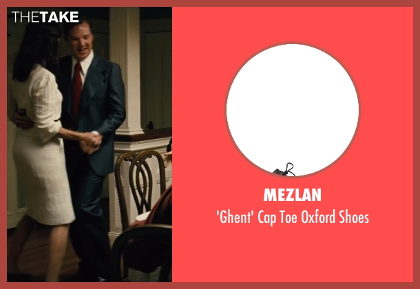 Mezlan black shoes from Black Mass seen with Benedict Cumberbatch (Bill Bulger)