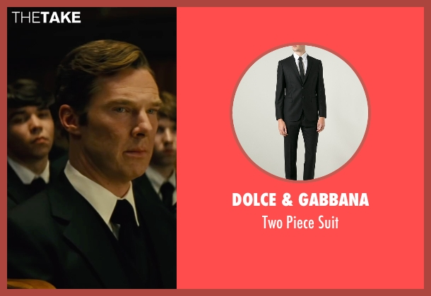 Dolce & Gabbana black suit from Black Mass seen with Benedict Cumberbatch (Bill Bulger)