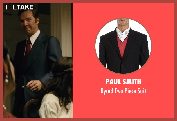 Paul Smith black suit from Black Mass seen with Benedict Cumberbatch (Bill Bulger)