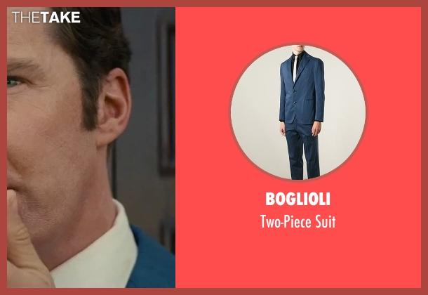 Boglioli blue suit from Black Mass seen with Benedict Cumberbatch (Bill Bulger)
