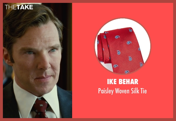 Ike Behar red tie from Black Mass seen with Benedict Cumberbatch (Bill Bulger)