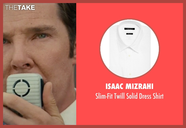 Isaac Mizrahi white shirt from Black Mass seen with Benedict Cumberbatch (Bill Bulger)