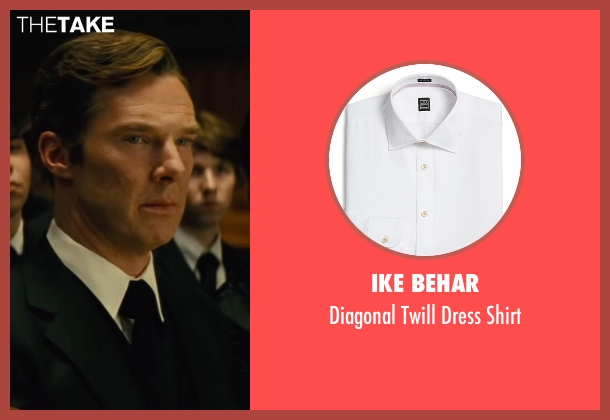 Ike Behar white shirt from Black Mass seen with Benedict Cumberbatch (Bill Bulger)
