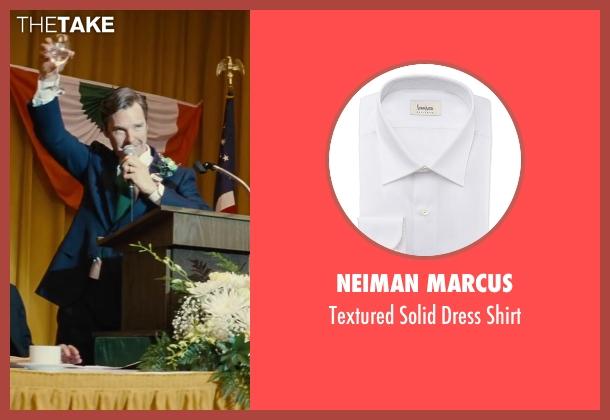 Neiman Marcus white shirt from Black Mass seen with Benedict Cumberbatch (Bill Bulger)