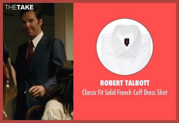 Robert Talbott white shirt from Black Mass seen with Benedict Cumberbatch (Bill Bulger)
