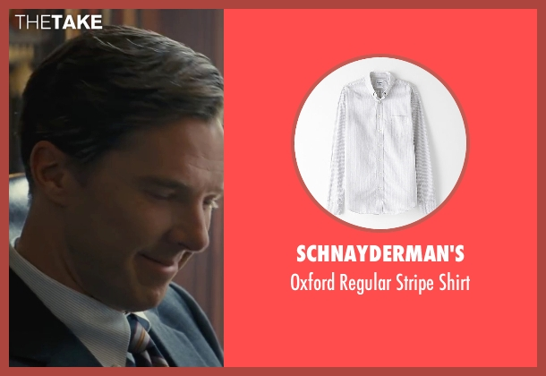 Schnayderman's white shirt from Black Mass seen with Benedict Cumberbatch (Bill Bulger)