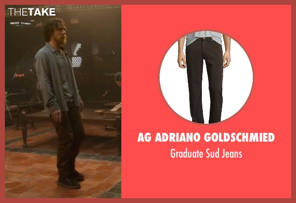AG Adriano Goldschmied brown jeans from Doctor Strange seen with Benedict Cumberbatch (Dr. Stephen Strange)
