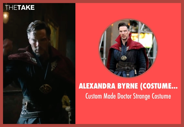 Alexandra Byrne (Costume Designer) costume from Doctor Strange seen with Benedict Cumberbatch (Dr. Stephen Strange)