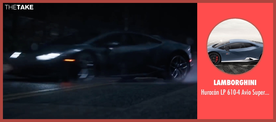 Lamborghini supercar from Doctor Strange seen with Benedict Cumberbatch (Dr. Stephen Strange)