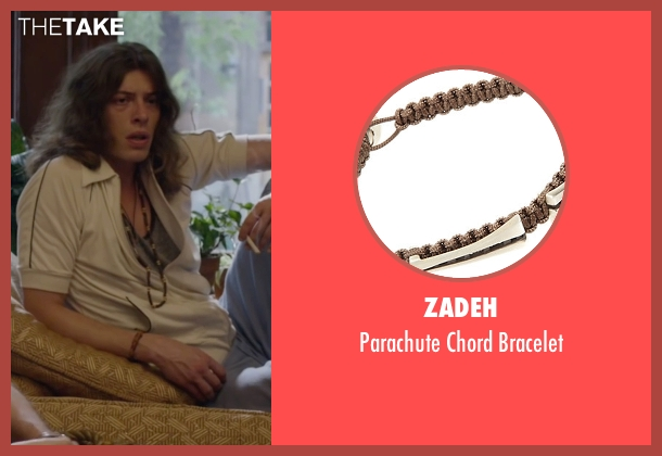 Zadeh brown bracelet from The Walk seen with Benedict Samuel (Jean-Louis)