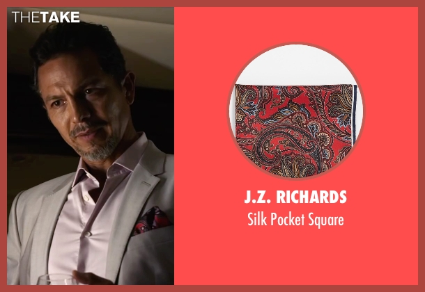 J.Z. Richards red square from Ride Along 2 seen with Benjamin Bratt (Pope)