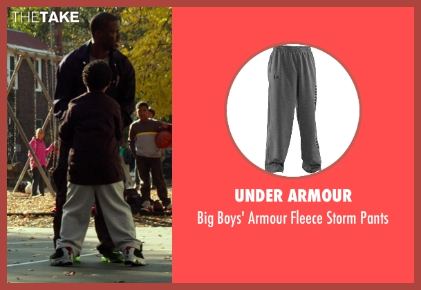 Under Armour gray pants from Ride Along seen with No Actor (Morris the Kid)
