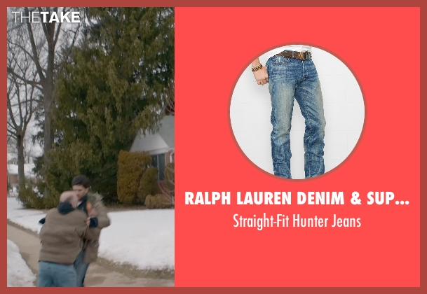 Ralph Lauren Denim & Supply blue jeans from The Visit seen with Benjamin Kanes (Dad)