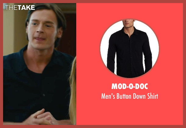 Mod-O-Doc black shirt from The Choice seen with Benjamin Walker (Travis Parker)
