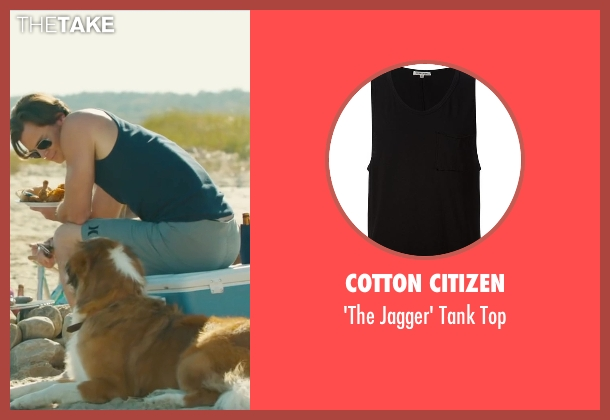 Cotton Citizen black top from The Choice seen with Benjamin Walker (Travis Parker)